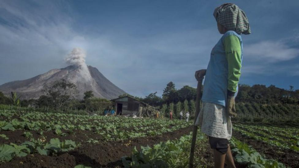 Concern over Indonesian volcano