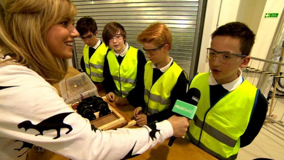 Kids compete in energy challenge
