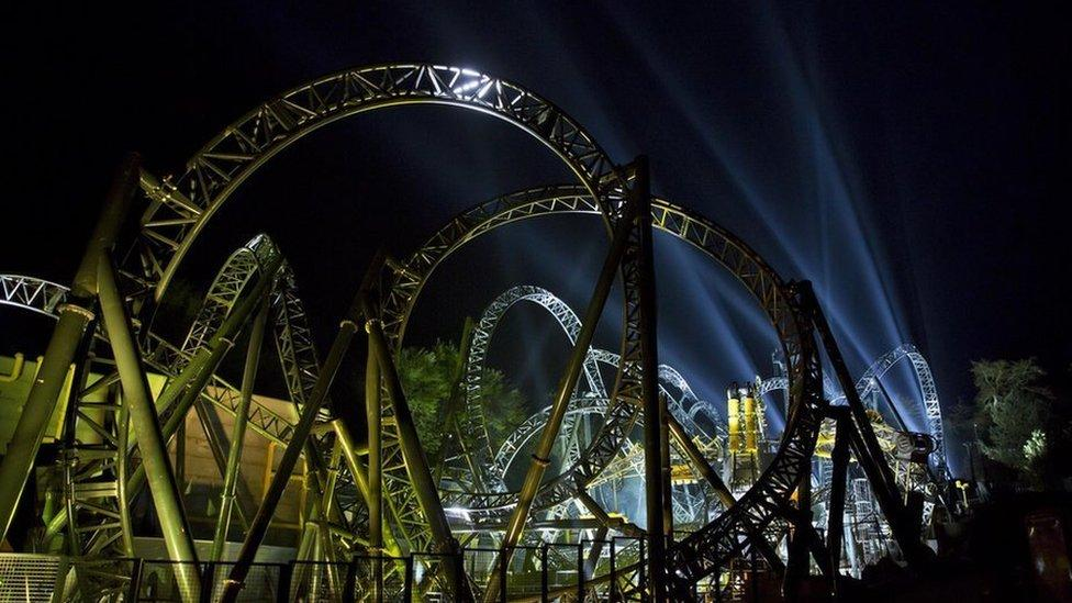 Alton Towers reopens