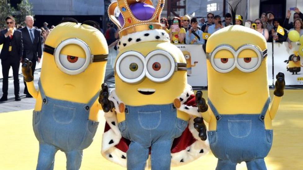 Minions movie mania hits London
