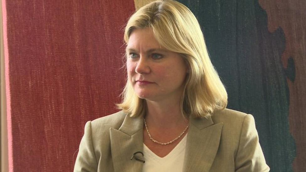 Justine Greening talks kids' rights