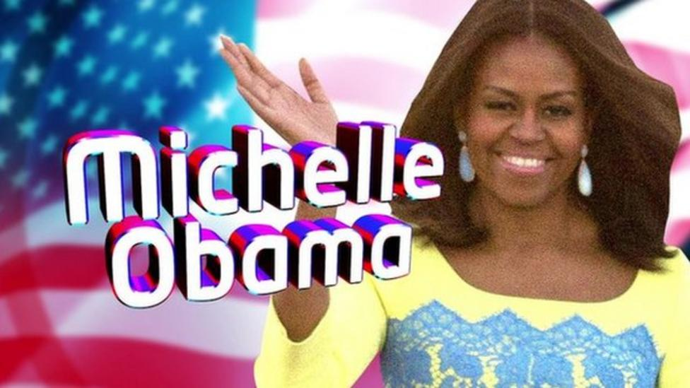 Who is the US First Lady Michelle Obama?