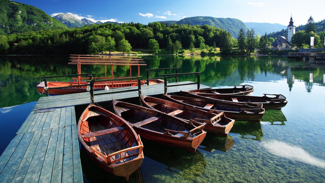 The quiet stillness of Lake Bohinj can feel overwhelming (Credit: Credit: Slovenian Tourist Board)
