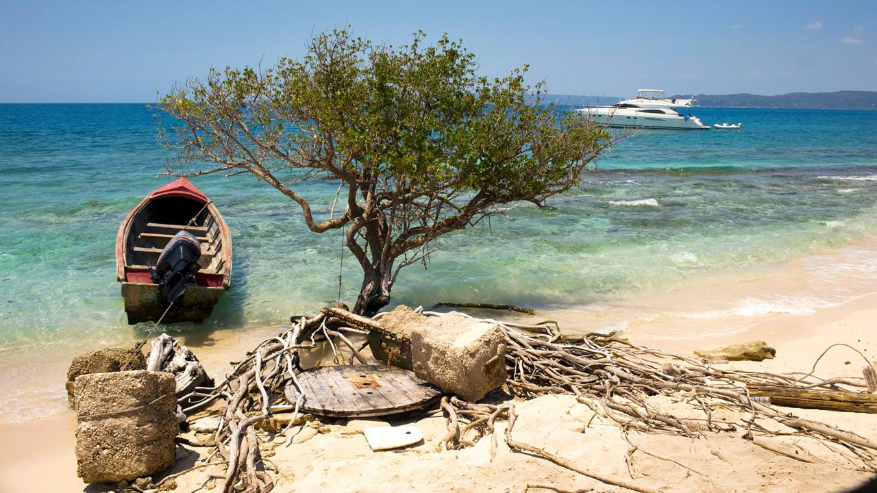 Jamaica's sunken pirate town (Credit: Credit: Steffan Hill/Alamy Stock Photo)