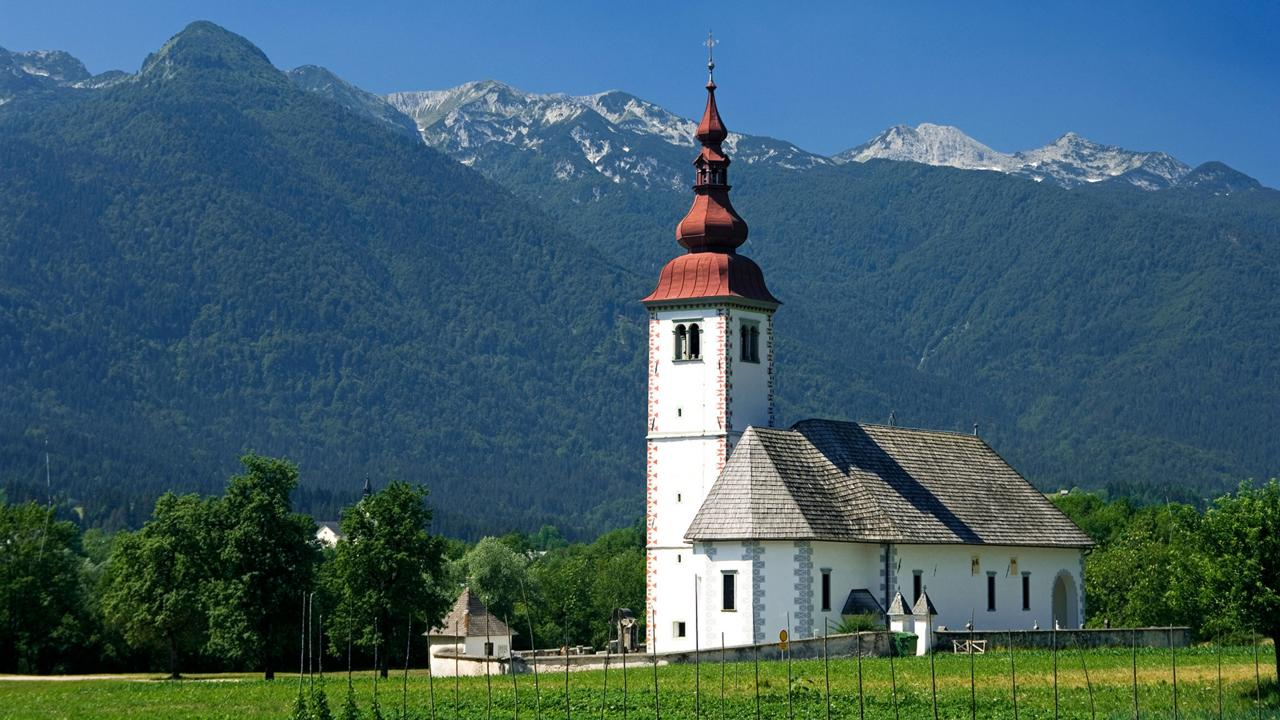 The age of the Church of St. John the Baptist remains a mystery (Credit: Credit: Barry Mason/Alamy)