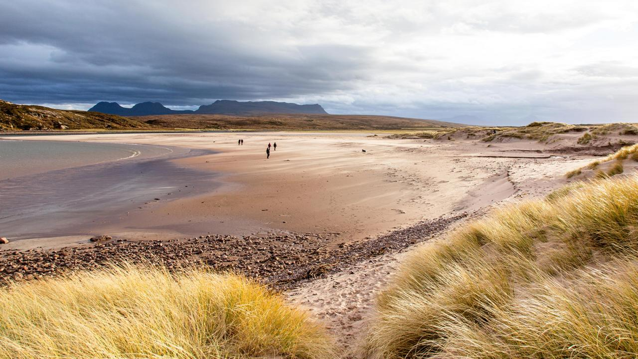 Beach near Cromarty (Credit: Credit: Sham/Alamy)