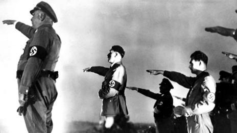 Nazi propaganda film Triumph of the Will (Rex Features)