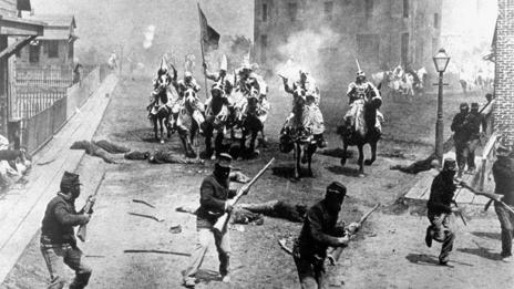 The Birth of a Nation established the template for future Hollywood battle scenes