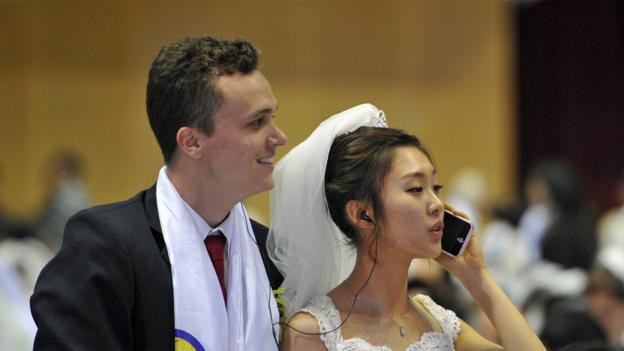 Put your phone away! (Credit: Kim Jae Hwan/AFP/Getty)