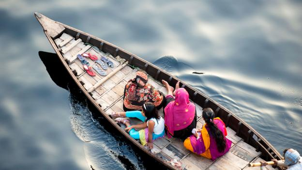 Bangladesh is crowded with boats battling through the waterways (Credit: Credit: Tarzan9280/iStock)