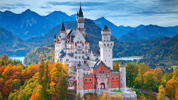 Neuschwanstein Castle in Bavaria is rumoured to have inspired Disney (Credit: Credit: Rudy Balasko/iStock)