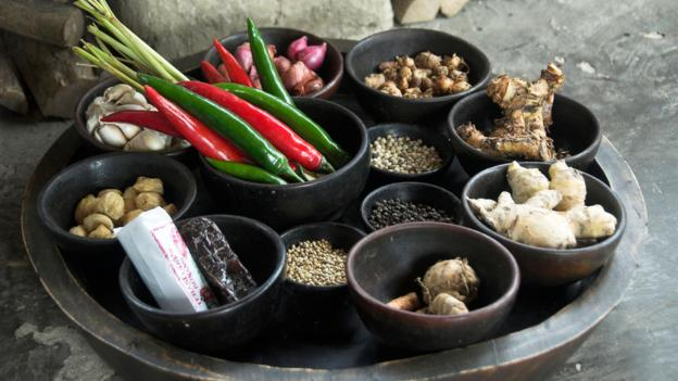 Spices are used in many Balinese dishes (Credit: Credit: Ian McCarney/Alamy)