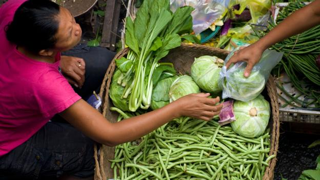 Beans are an important component to babi guling (Credit: Credit: Edmund Lowe/Alamy)