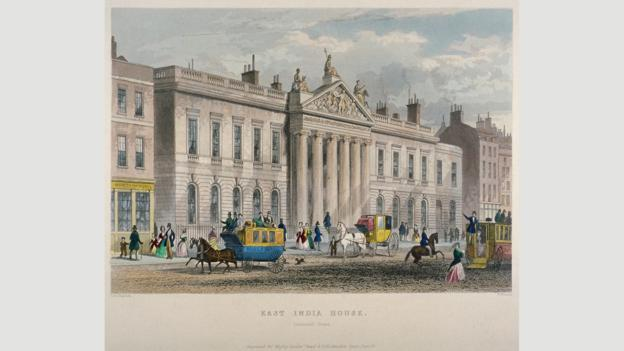 The 'new' East India House