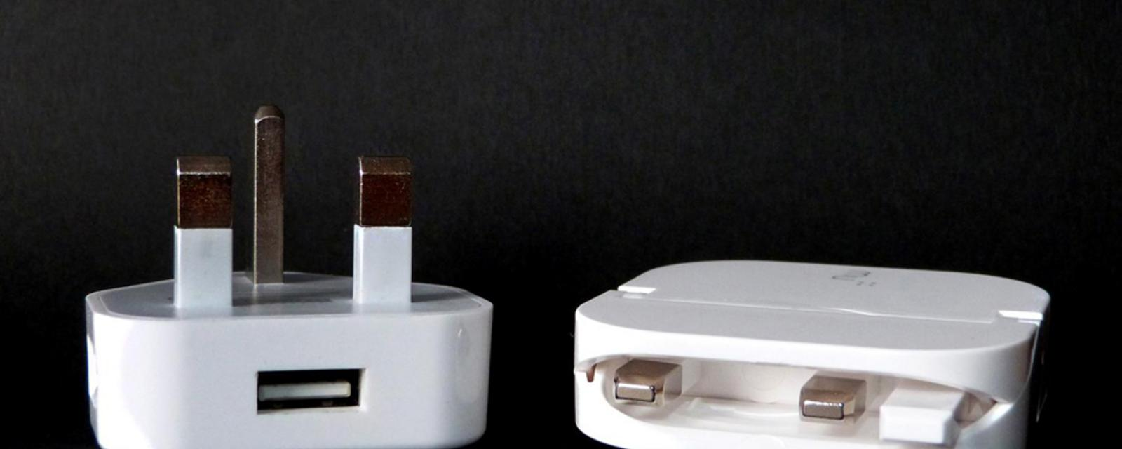 Foldable plug updates a decades-old design