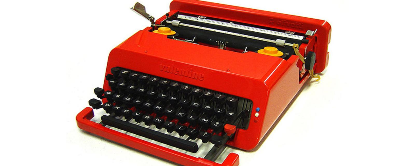 Olivetti's typewriter: 'The iMac of its day'