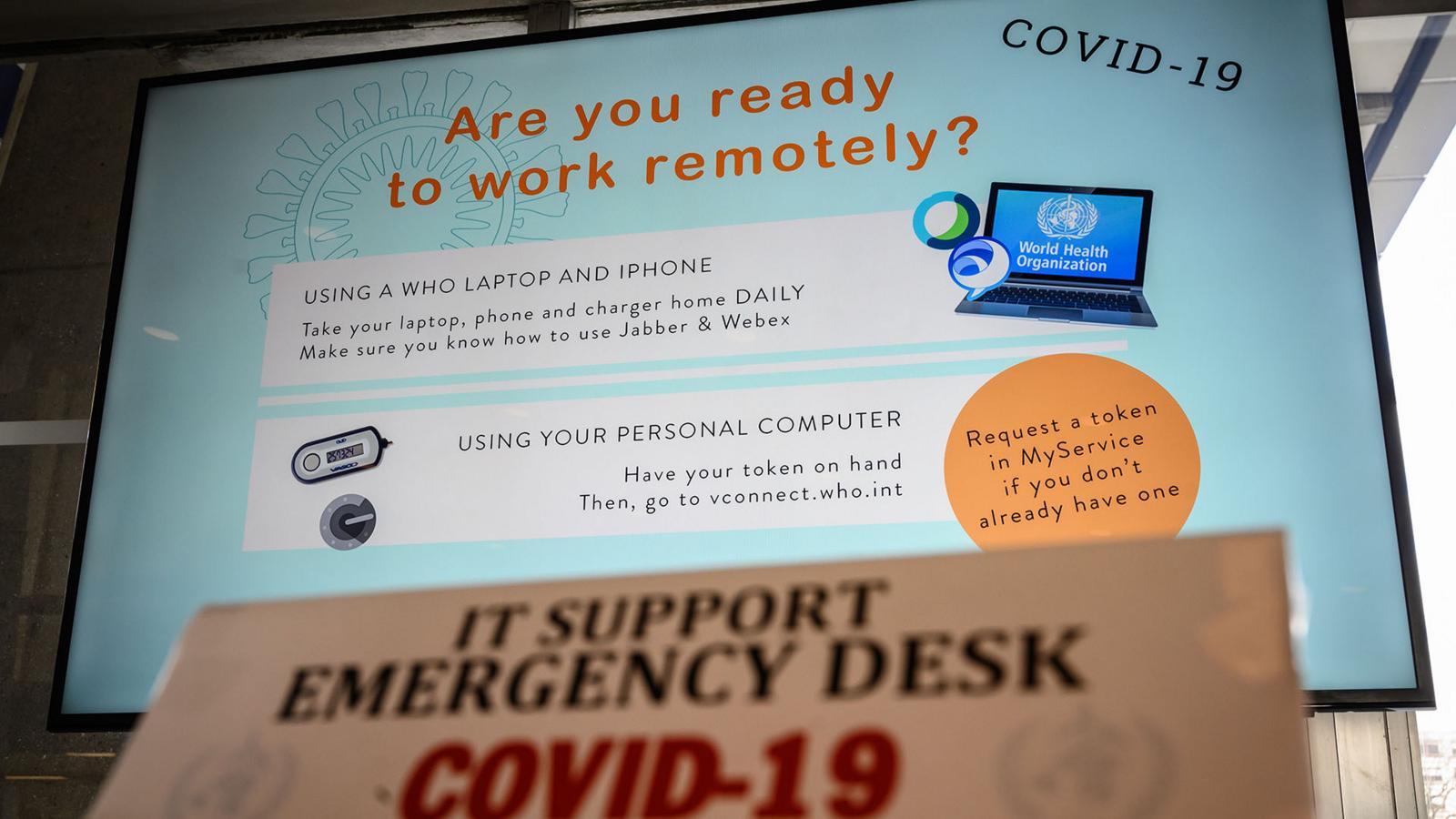 coronavirus: come lavorare da casa