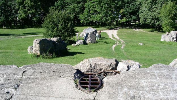 Hitler's Ukrainian bunker revealed