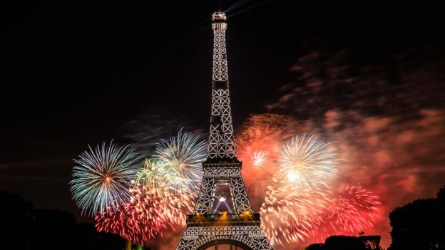 In Paris, a new spin on Bastille Day