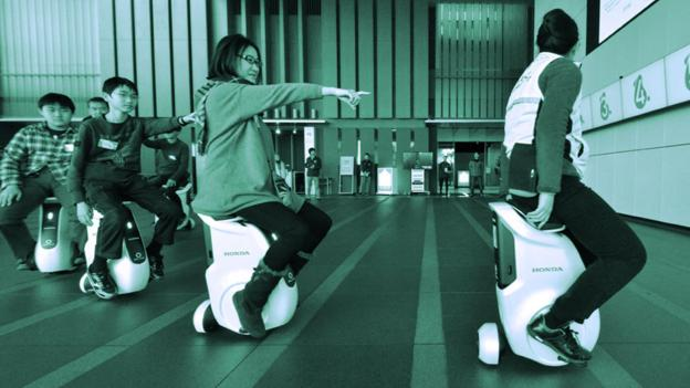 Test-riding the bicycles of the future