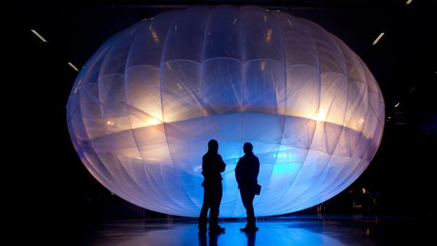 Google's balloons that could bring the internet to all