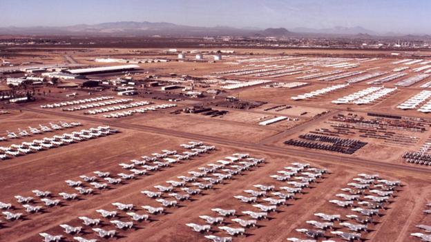 BBC - Future - The secrets of the desert aircraft 'boneyards'