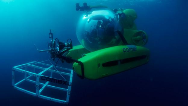 bbc future a glass sub to probe the ocean depths