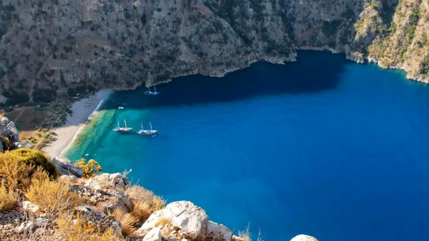 An untouched paradise in Turkey's Butterfly Valley
