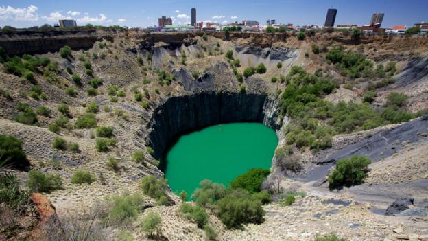 The deepest holes dug by hand