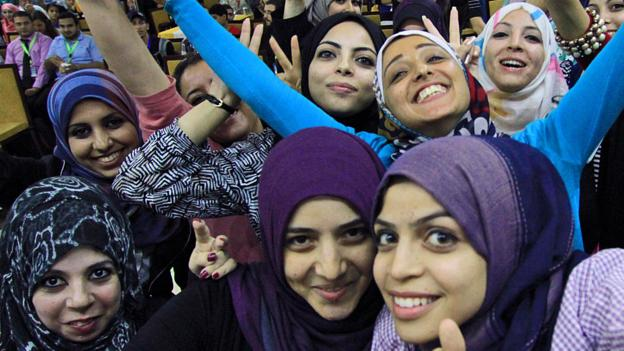 Young, female and forging ahead in Gaza