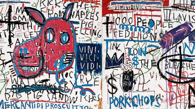 BBC , Culture , Jean,Michel Basquiat The life and work