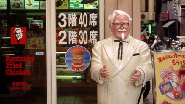 Why Japan celebrates Christmas with KFC