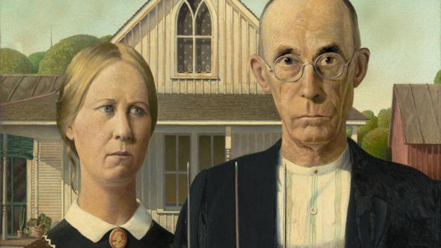 why is american gothic famous