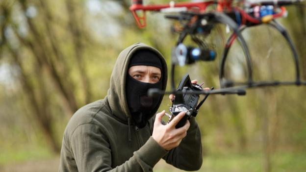 How police catch drone-flying criminals