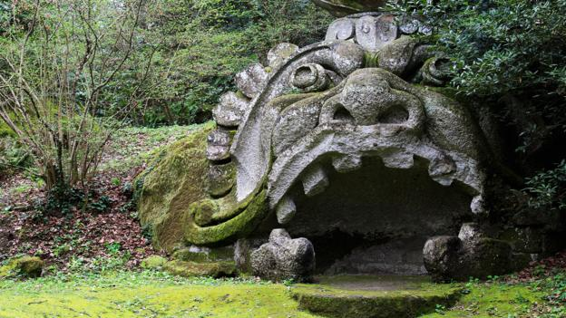 Italy's mysterious garden of monsters