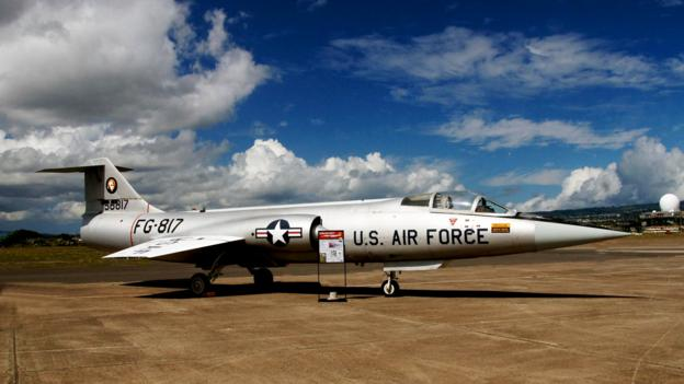 The fighter jet that will launch satellites