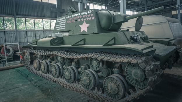 BBC - Future - The salvagers who raise World War Two tanks