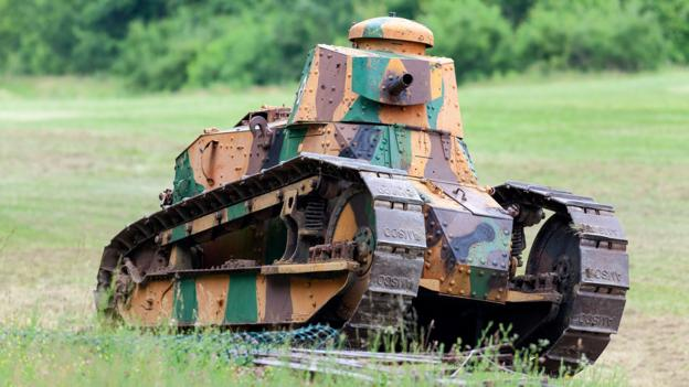 BBC - Future - The WWI tank that helped change warfare forever