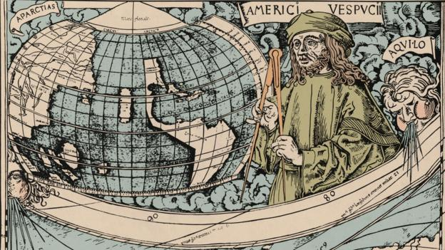 BBC - Travel - The epic story of the map that gave America its name