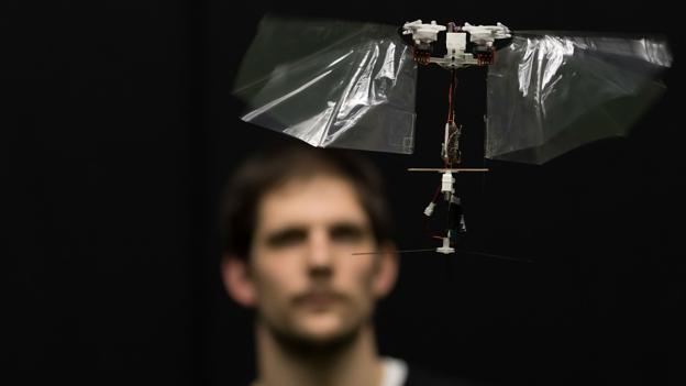 Could this tiny, flying robot save lives?