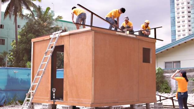 The tiny home that can be built in four hours