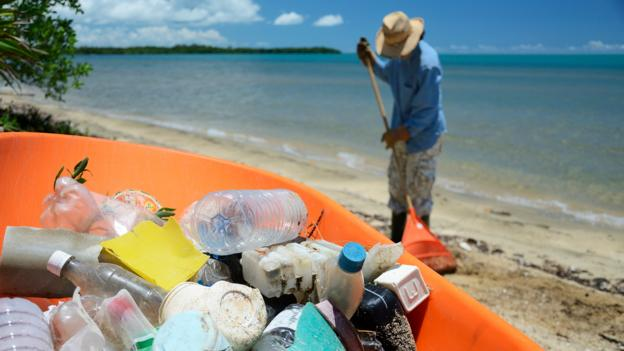 A simple online system that could end plastic pollution - BBC News