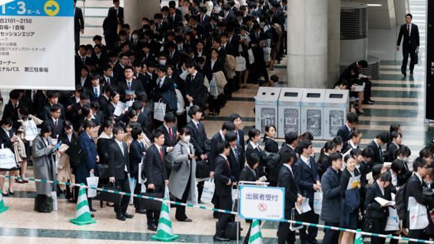 Why Japan's 'shūkatsu' job-seeking system is changing