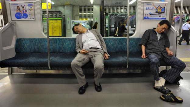 Why overtired Japan is turning to office siestas
