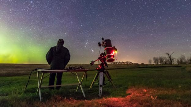 The manmade 'stars' changing the night sky
