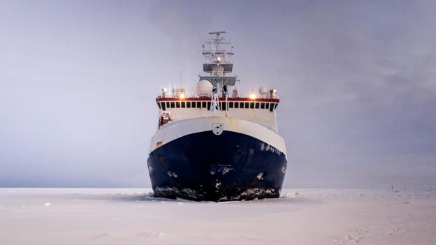 Why this ship is spending a year frozen in the Arctic