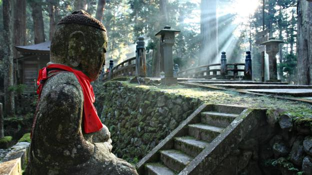 Japan's secluded world of temples