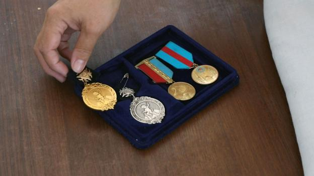 The country where mothers win medals for having more kids