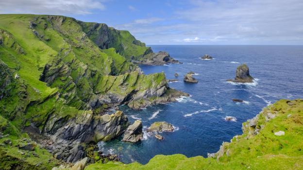 Unst: A real life Treasure Island