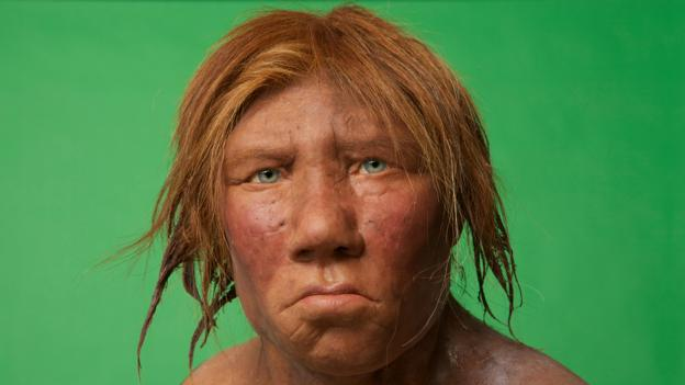 How did the last Neanderthals live?